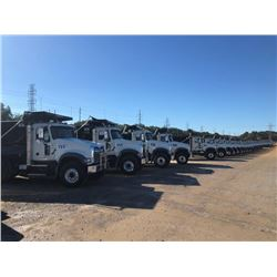 2018 MACK GU713 DUMP, VIN/SN:1M2AX07C1JM037550 - TRI-AXLE, 455 HP MACK MP8 ENGINE, ALLISON A/T, 44K