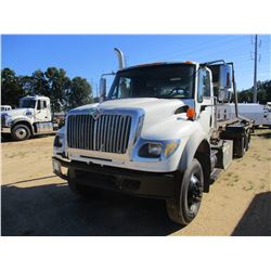 2006 INTERNATIONAL 7600 ROLL OFF, VIN/SN:1HTWYAHT06J344649 - T/A, CUMMINS DIESEL ENGINE, 8LL TRANS,