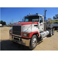2014 MACK CHU613 TRUCK TRACTOR, VIN/SN:1M1AN09Y1EM015797 - T/A, 415 HP MACK MP8 ENGINE, 10 SPEED TRA