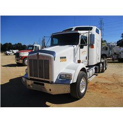 2007 KENWORTH T800 TRUCK TRACTOR, VIN/SN:1XKDDBBX97J173110 - TRI-AXLE, 475 HP CAT ACERT DIESEL ENGIN