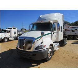 2012 INTERNATIONAL PROSTAR TRUCK TRACTOR, VIN/SN:3HSDJSJR8CN043754 - T/A, MAX FORICE DIESEL ENGINE,