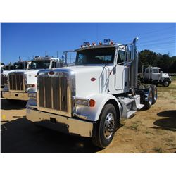 2007 PETERBILT 378 TRUCK TRACTOR, VIN/SN:1XPFDU9X57N734599 - T/A, 475 HP CAT C15 ENGINE, 10 SPEED TR