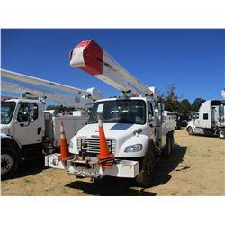 2007 FREIGHTLINER M2 BUCKET TRUCK, VIN/SN:1FVHCYDC77HX27424 - T/A, CAT C7 DIESEL ENGINE, ALLISON A/T