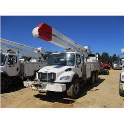 2007 FREIGHTLINTER M2 BUCKET TRUCK, VIN/SN:1FVHCYDC87HX27397 - T/A, CAT C7 DIESEL ENGINE, ALLISON A/