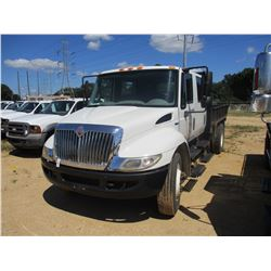 2011 INTERNATIONAL DURA-STAR FLATBED DUMP, VIN/SN:1HTJTSKL9BH344903 - S/A, CREW CAB, MAXX FORCE DIES