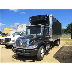 2013 INTERNATIONAL DURA STAR 4300 BOX TRUCK, VIN/SN:1HTMMAAL8DH360244 - S/A, GVW 25,999LB, MAXFORCE