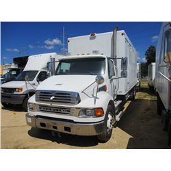 2007 STERLING BOX TRUCK, VIN/SN:2FZACGDJX7AYY8539 - MERCEDES BENZ DIESEL ENGINE, ALLISON A/T, 21K RE