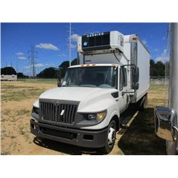2012 INTERNATIONAL TERRA STAR BOX TRUCK, VIN/SN:1HTJSSKK8CJ623733 - S/A, IHC DIESEL ENGINE, A/T, 16'