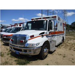 2007 INTERNATIONAL 4300 AMBULANCE, VIN/SN:1HTMNAAM47H469200 - S/A, IHC DIESEL ENGINE, A/T, AMBULANCE