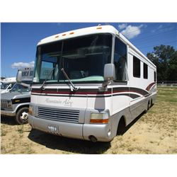 1997 MOUNTAIN AIR MOTOR HOME, VIN/SN:1GBLP37JXV3308581 - T/A, GAS ENGINE, A/T, 1 SLIDE OUT, 1 BEDROO