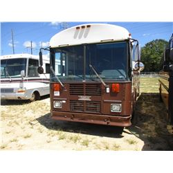 2002 THOMAS CHICK BUS, VIN/SN:1T88U6B2X21108971 - CAT DIESEL ENGINE, ALLISON A/T, 20K REARS, 12,350#
