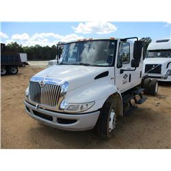 2011 INTERNATIONAL 4300 DURA STAR CAB AND CHASSIS, VIN/SN:1HTJTSKL3BH369070 - S/A, CREW CAB, MAXFORC