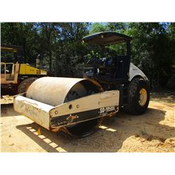 "INGERSOLL RAND SD105DX ROLLER, VIN/SN:177788 - VIBRATORY, 84"" SMOOTH DRUM, CANOPY, METER READING 3,8"
