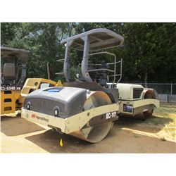 "INGERSOLL RAND DD112HF ROLLER, VIN/SN:18852 - TANDEM, VIBRATORY, 78"" SMOOTH DRUMS, WATER SYSTEM, CAN"