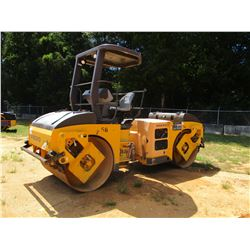 "VOLVO DD70HF ROLLER, VIN/SN:VCE00070L00199976 - TANDEM, 56"" DRUMS, VIBRATORY, CANOPY, METER READING"