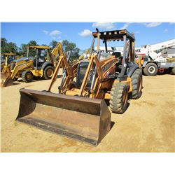 CASE 590SN LOADER BACKHOE, VIN/SN:NVDC591244 - 4X4, BUCKET, CANOPY, METER READING 2,727 HOURS