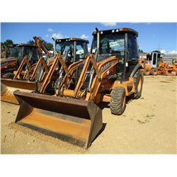 2012 CASE 580 SUPER N LOADER BACKHOE, VIN/SN:564542 - 4X4, BUCKET, CAB, A/C, METER READING 2,720 HOU