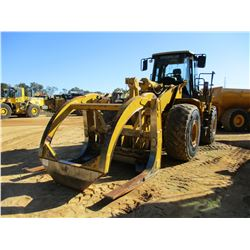 2005 CAT 966G SERIES II WHEEL LOADER, VIN/SN:ANZ01272 - WICKER FORKS W/TOP CLAMP, LINCOLN AUTO LUBE,