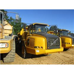 2003 VOLVO A30D ARTICULATED DUMP, VIN/SN:V10567 - TAILGATE, CAB, A/C, 30/65R25 REAR TIRES, 750/65R25