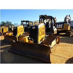 2016 CAT D3K2 LGP CRAWLER TRACTOR, VIN/SN:KL202165 - 6 WAY BLADE, SYSTEM 1 U/C, CANOPY, METER READIN