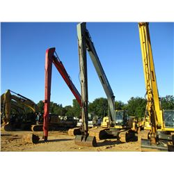"JOHN DEERE 270D LC LONG REACH EXCAVATOR, VIN/SN:703314 - 27' STICK, 60"" BUCKET, AUX HYD, CAB, A/C, M"