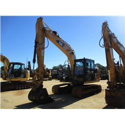 "2014 CAT 312E HYDRAULIC EXCAVATOR, VIN/SN:PZL00554 - 9' STICK, 38"" BUCKET, COUPLER, AUX HYD, REAR CA"