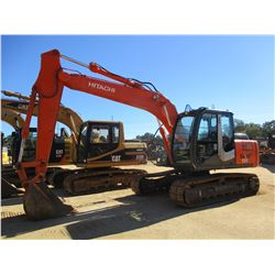 "2011 HITACHI ZX120-3 HYDRAULIC EXCAVATOR, VIN/SN:86633 - 9' STICK, 36"" BUCKET, REAR CAMERA, CAB, A/C"
