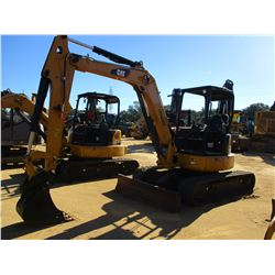 "2016 CAT 305.5E2 CR EXCAVATOR, VIN/SN:CR501415 - 6' STICK, 16"" BUCKET, AUX HYD, BLADE, RUBBER TRACKS"