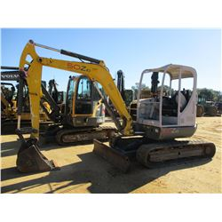 "2008 WACKER NEUSON 50Z3 MINI EXCAVATOR, VIN/SN:AH01832 - 6' STICK, 24"" BUCKET, AUX HYD, SWING AWAY B"