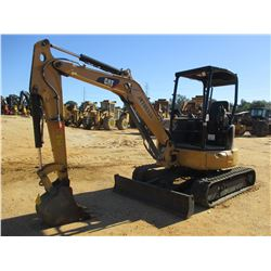 "2015 CAT 303.5E2 CR MINI EXCAVATOR, VIN/SN:JWY00333 - 4'-6"" STICK, 14"" BUCKET, AUX HYD, BLADE, RUBBE"