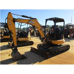 2012 JCB 8035CTS MINI EXCAVATOR, VIN/SN:C02022173 - 5' STICK, BUCKET, HYD THUMB, SWING AWAY BOOM, BL