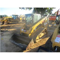 2015 CAT 289D SKID STEER LOADER, VIN/SN:TAW02515 - CRAWLER, BUCKET, TWO SPEED, CAB, A/C, METER READI