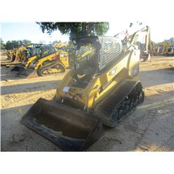 2011 CAT 277C SKID STEER LOADER, VIN/SN:JWF02568 - CRAWLER, HIGH FLOW, BUCKET, CANOPY, METER READING