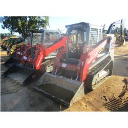 2014 TAKEUCHI TL10 SKID STEER LOADER, VIN/SN:201000707 - CRAWLER, BUCKET, HIGH FLOW, CANOPY, METER R