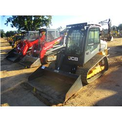 JCB 320T ECO SKID STEER LOADER, VIN/SN:1745768 - CRAWLER, BUCKET, CAB, A/C, METER READING 514 HOURS