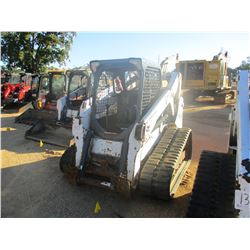 2012 BOBCAT T650 SKID STEER LOADER, VIN/SN:A3P014883 - CRAWLER, HIGH FLOW, CANOPY, METER READING 1,4