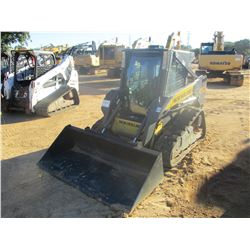 2010 NEW HOLLAND C175 SKID STEER LOADER, VIN/SN:NAM417348 - CRAWLER, BUCKET, CAB, A/C, METER READING