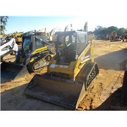 2012 CAT 247B3 SKID STEER LOADER, VIN/SN:TSL01227 - CRAWLER, BUCKET, CANOPY, METER READING 2,821 HOU