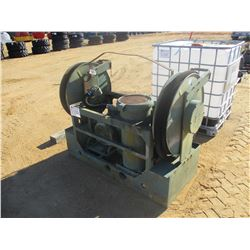 FUEL PUMPING UNIT MILITARY TYPE, (B9)