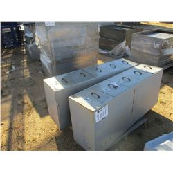 (2) 5 DRAWER FILE CABINET (B9)