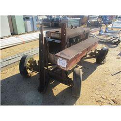 WELDING MACHINE, - GAS ENGINE, TRAILER MOUNTED (B9)