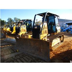 2016 CAT D5K2 LGP CRAWLER TRACTOR, VIN/SN:KY200579 - 6 WAY BLADE, PLUMBED FOR GPS, CAB, A/C, SWEEPS,