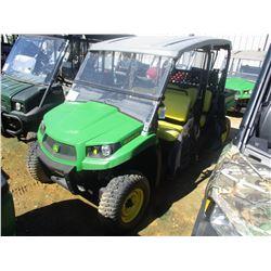 2016 JOHN DEERE GATOR XUV 560 S4 ATV, VIN/SN:1M0560FBTGM010008 - 4X4, GAS ENGINE, DUMP BED, WINDSHIE