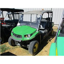 2016 JOHN DEERE GATOR XUV 560 S4 ATV, VIN/SN:1M0550FBAGM050049 - 4X4, GAS ENGINE, DUMP BED, WINDSHIE