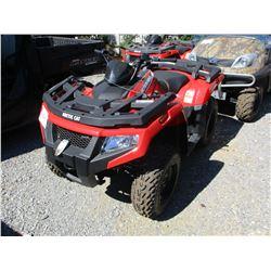 2016 ARCTIC CAP 400 ATV, VIN/SN:RFB16ATV8GK6M0331 - 4X4, GAS ENGINE