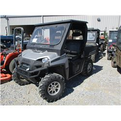2009 POLARIS RANGER HD VIN/SN:4XAHY68A994895979 - 4X4, CANOPY, DUMP BED, METER READING 1,520 HOURS
