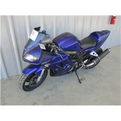 2007 SUZUKI SV10005 MOTORCYCLE, VIN/SN:JS1VT54A372100194 - ODOMETER READING 30,252 MILES