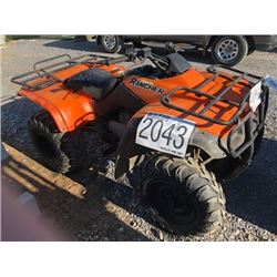 2001 HONDA RANCHER ATV, VIN/SN:TRX350TM