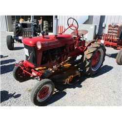 "MCCORMICK FARMALL FARM TRACTOR, VIN/SN:35488R1 - 42"" BELLY CUTTER, 9.5-24 TIRES"