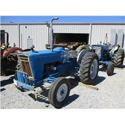 FORD 3000 FARM TRACTOR, VIN/SN:C191877 - 13.6-28 TIRES, METER READING 6000 HOURS